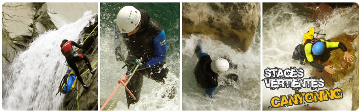 Stages Canyoning Sierra de Guara