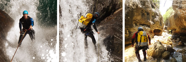 Canyoning - Descente de canyons Espagne