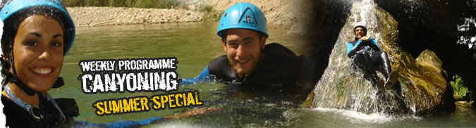 Canyoning Summer Special