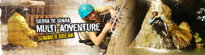 Multi-adventures for adults. Summer offers