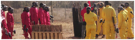 Paintball en Alquézar, Huesca