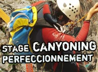 Stage de canyoning niveau II