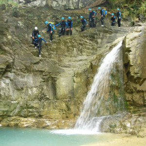 Descenso de barrancos en Huesca