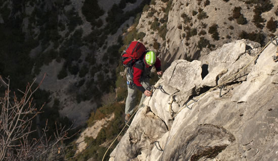 Via Ferrata de Rodellar