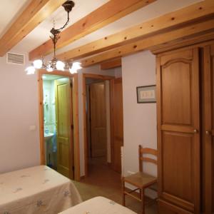 Habitación Casa Rural Rodellar