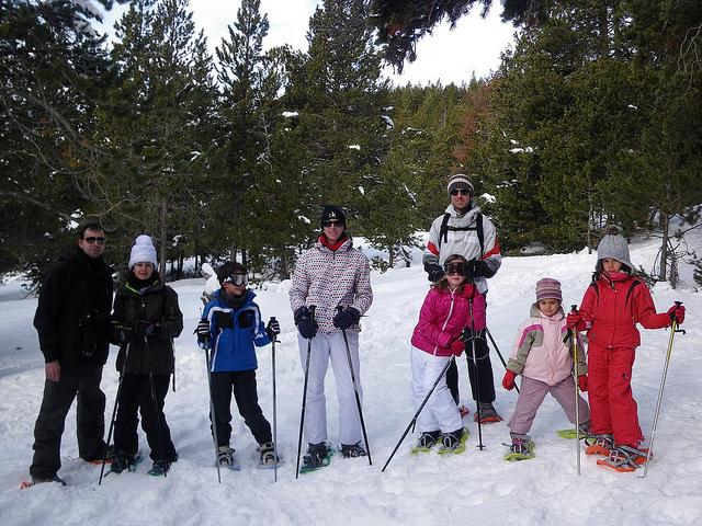 Escapadas Raquetas de Nieve en Familia